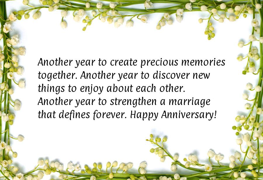 Wedding Anniversary Sayings, Wishes and Quotes | Sayings Library